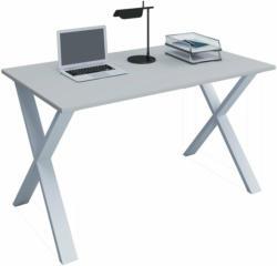 """Schreibtisch """"Lona"""", 80x50 cm, X-Fußgestell, schwarz"""
