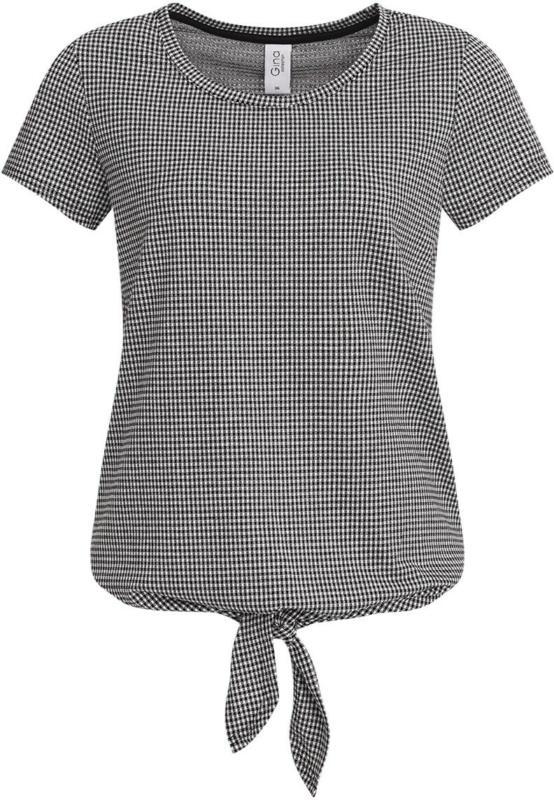 Damen T-Shirt im Karo-Dessin (Nur online)