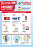 Pharmacie Sun Store Offres Sunstore - au 14.03.2021