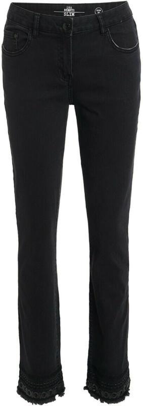 Damen Slim-Jeans mit Pailletten (Nur online)