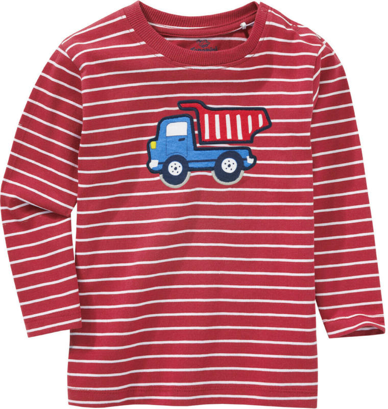 Baby Langarmshirt mit Kipper-Motiv (Nur online)