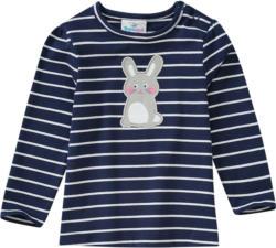 Baby Langarmshirt mit Hasen-Motiv (Nur online)