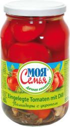 Eingelegte Tomaten mit Dill