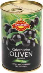 Griechische Oliven ohne Stein, geschwaerzt