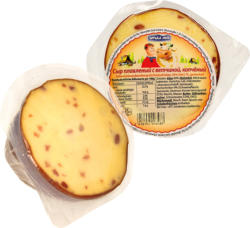 Schmelzkäsezubereitung mit Kochschinken, 45% Fett i. Tr., geräuchert