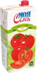 Fruchtgetränk aus Tomatenmarkkonzentrat, gezuckert und gesalzen. Fruchtgehalt: 82%