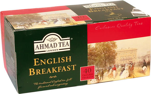 English Breakfast Tea AHMAD 40Btl.