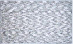 BADTEPPICH Silberfarben 70/120 cm