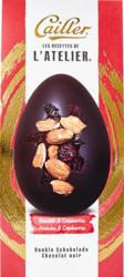 Ovetti di cioccolato fondente Les Recettes de L'Atelier Cailler, con mandorle e mirtilli rossi, 100 g