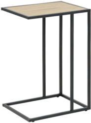 Beistelltisch Seaford Eichefarben + Stahl Schwarz