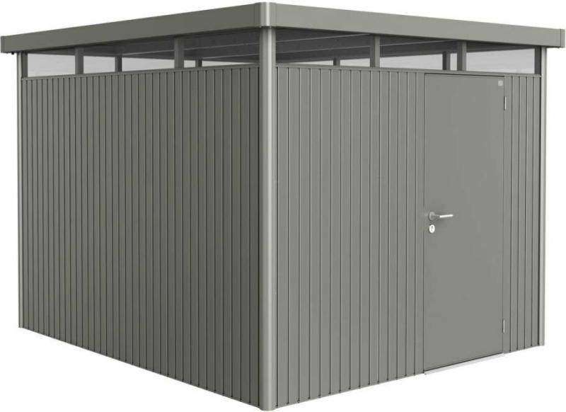 "Gerätehaus ""HighLine H5"", 275x315x222 cm, Standardtür 275x315x222 cm | grau  | Standardtür"