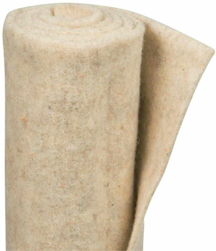 Winterschutz-Schafwollmatte, 50x150 cm, wollweiß