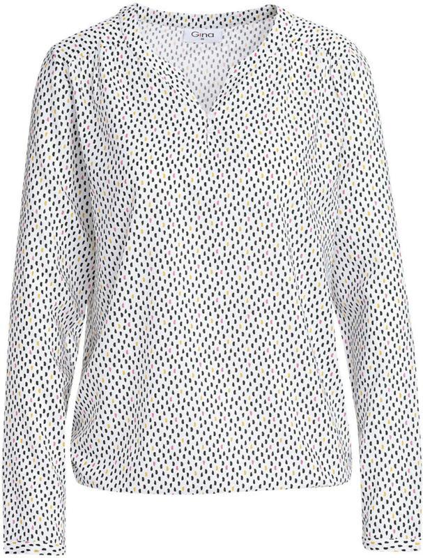 Damen Bluse mit Ballonsaum (Nur online)