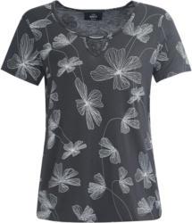 Damen T-Shirt mit Blumen-Print (Nur online)