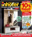 Möbel Inhofer Möbel Inhofer - Sonderbeilage Garderoben - bis 28.02.2021