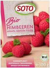 SOTO Bio-Tiefkühl-Früchte