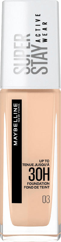 Maybelline New York Make-up Super Stay Active Wear Foundation 03 True Ivory