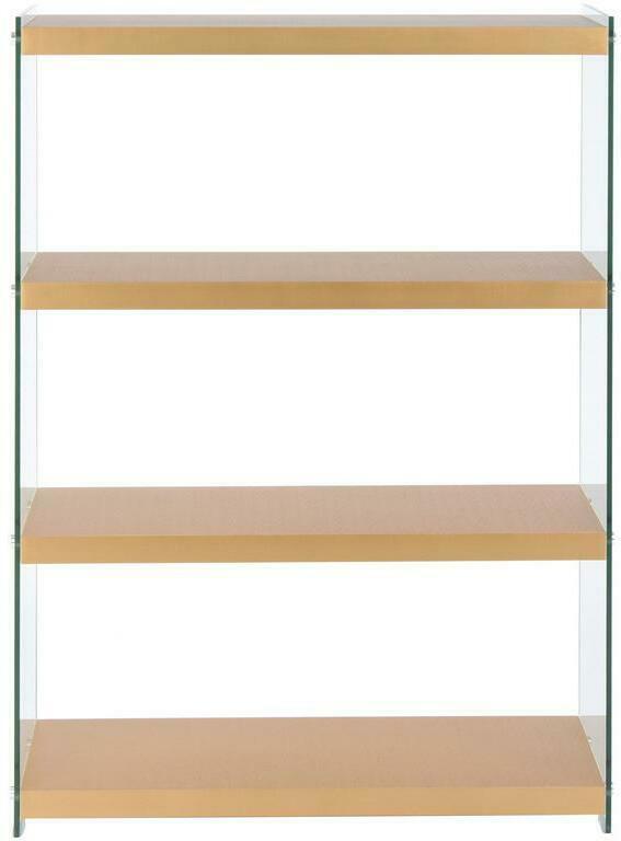 Regal Elementary B: 29,5 cm Gold/Glas Transparent
