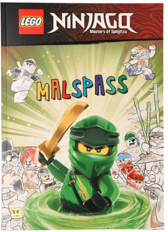 LEGO Ninjago Malbuch mit 32 Seiten (Nur online)