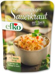 efko Sauerkraut mit Speck
