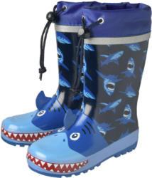 Jungen Regenstiefel mit Hai-Motiv (Nur online)