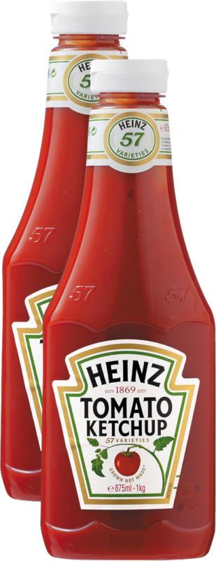 Heinz Tomato Ketchup, 2 x 1 kg