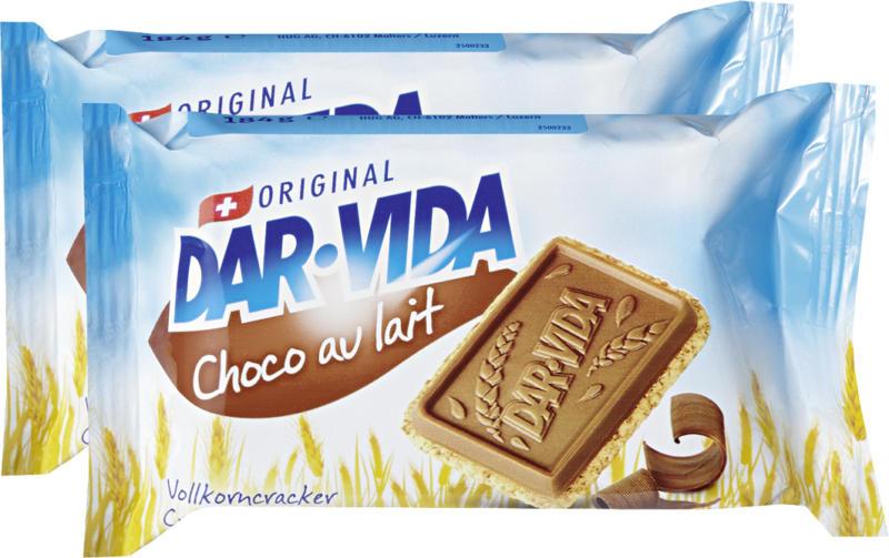DAR-VIDA Choco au lait Hug, 2 x 184 g