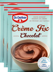 Crème Fix Chocolat Dr. Oetker, 3 x 120 g