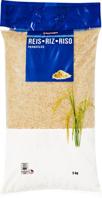 Denner Reis, parboiled, 5 kg