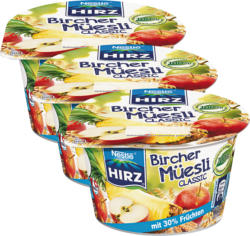 Birchermuesli Hirz , Classic, 3 x 190 g