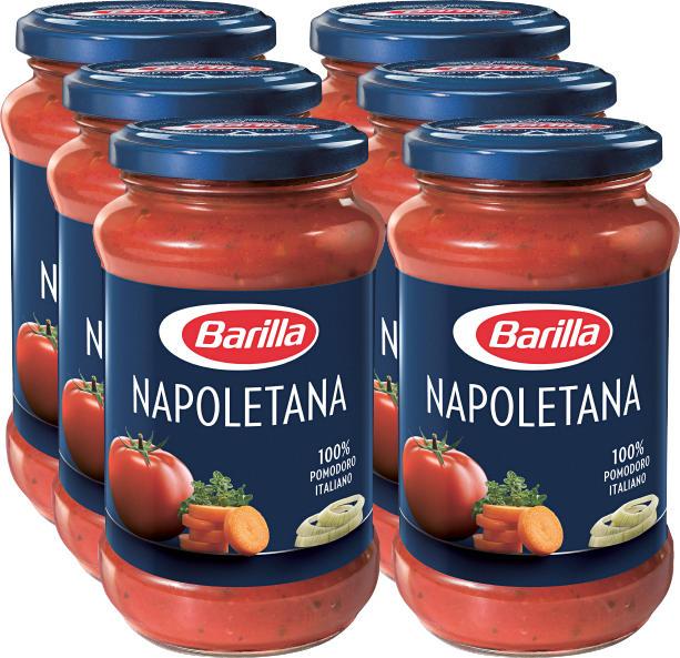 Barilla Sauce Napoletana, 6 x 400 g
