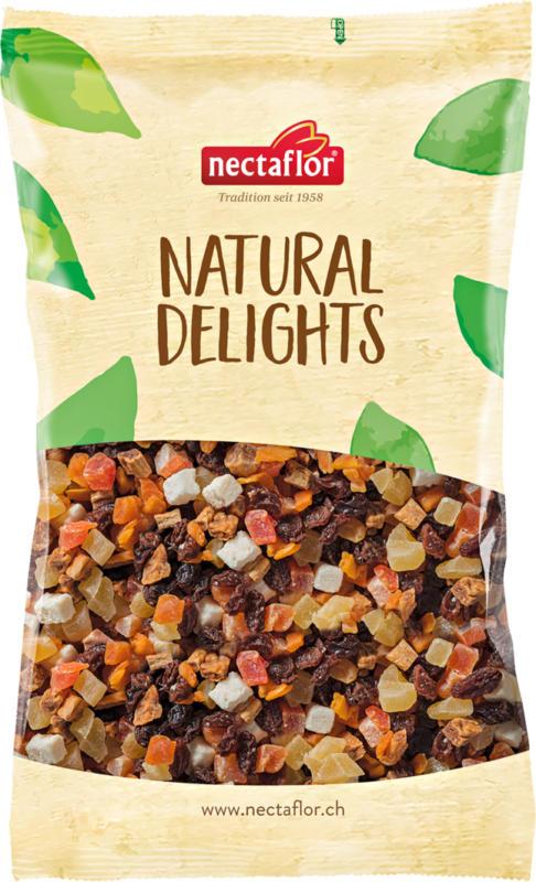 Fruits secs Natural Delights Mélange exotique Nectaflor, 500 g