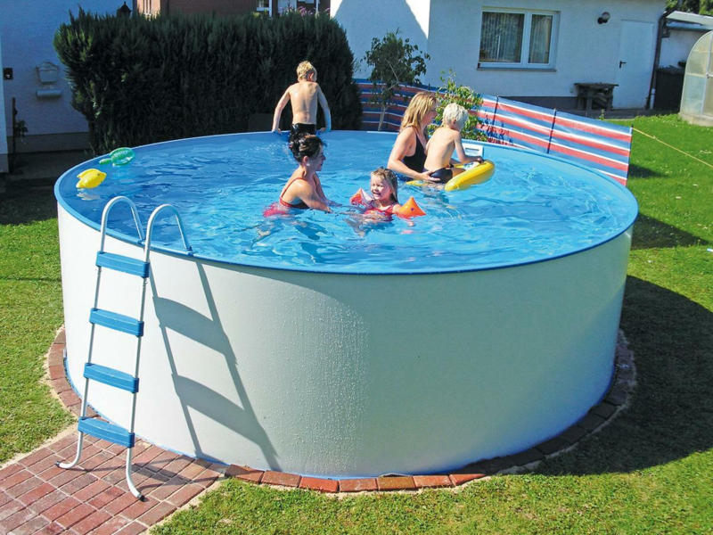 Schwimmbecken Steely Ø ca. 450cm