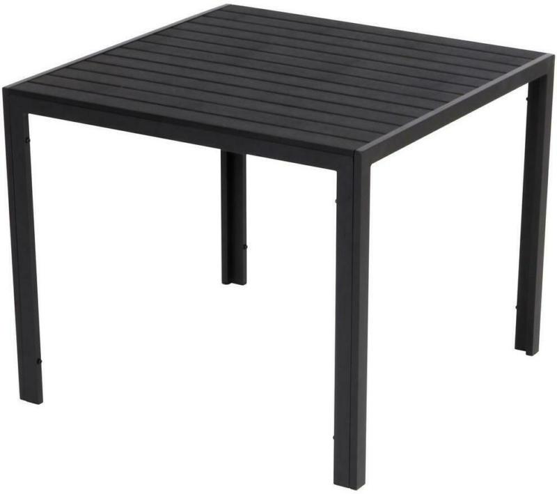 Gartentisch Mila Aluminium Pulverbeschichtet, L 90 cm