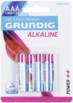Möbelix Grundig Batterien Aaa Alkaline 4er Pack