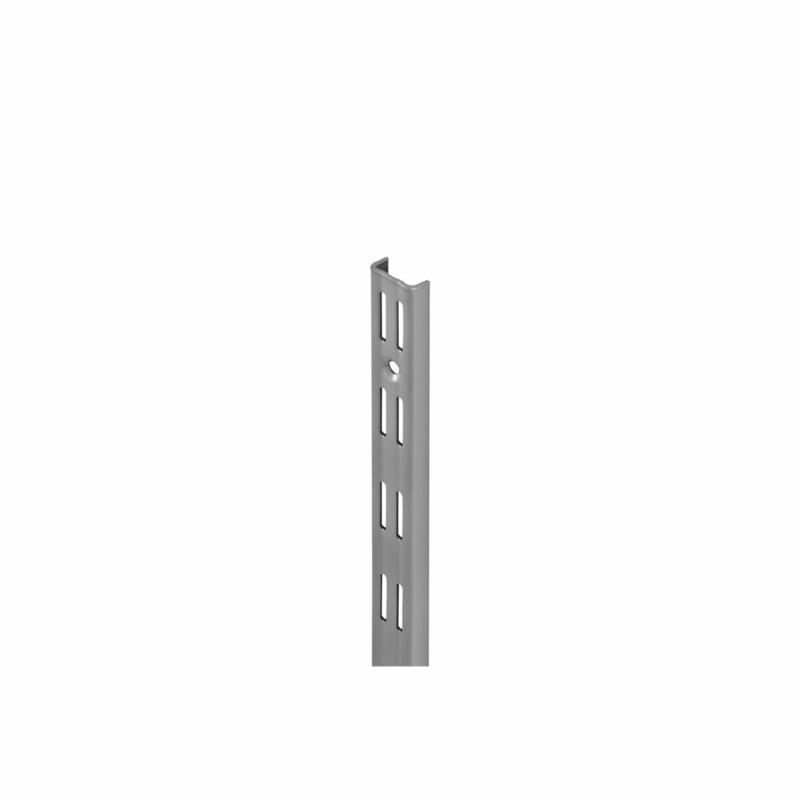 Wandschiene, 2-reihig, silber, 199,5cm 199,5 cm