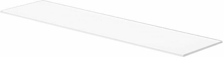 """Regalboden """"Glassline Square"""", weiß, 80x20x1cm 80x20x1 cm"""