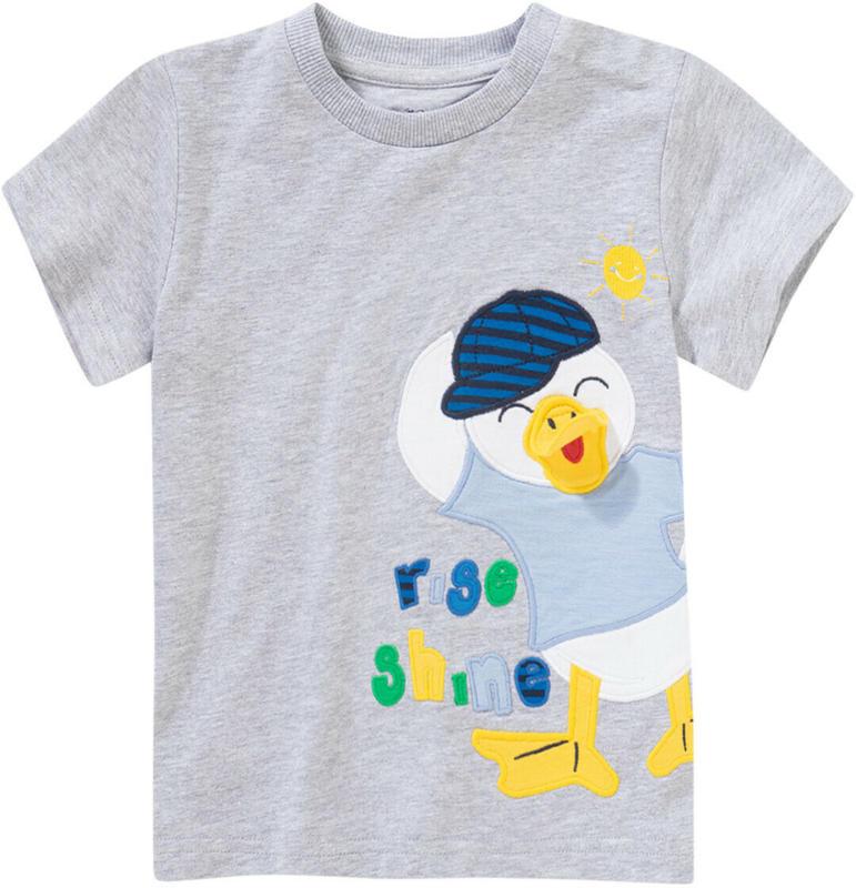 Jungen T-Shirt mit Enten-Applikation (Nur online)