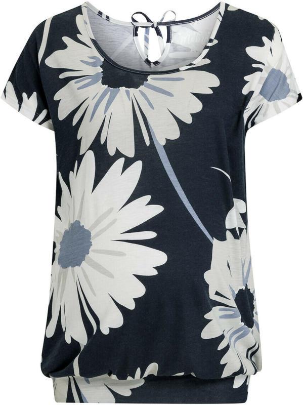 Damen Umstands-T-Shirt mit Blumen allover (Nur online)