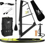 Möbelix Stand-Up Paddle Board Sup mit Segel Gelb/Schwarz