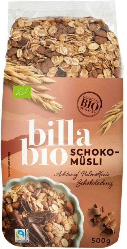 BILLA Bio Schoko-Müsli