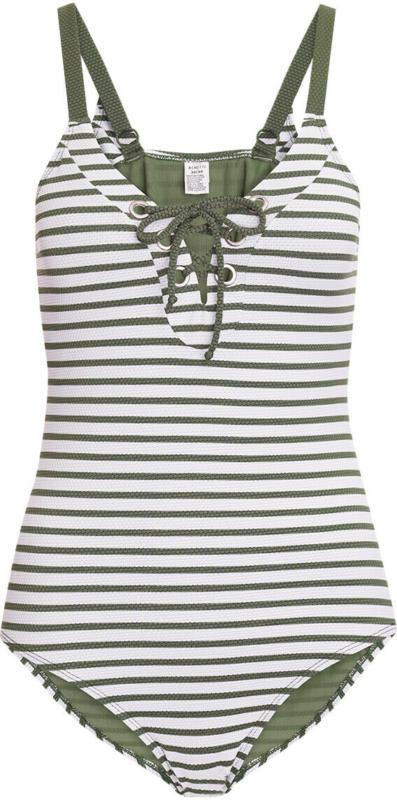 Damen Shape Badeanzug mit Streifen (Nur online)