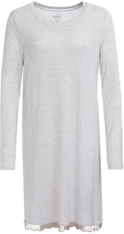 Damen Nachthemd mit Streifenmuster (Nur online)