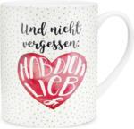 Möbelix Jumbotasse 'nicht Vergessen: Hab Dich Lieb' ca. 600 ml