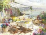 Möbelix Leinwandbild Whisper Of Summer Aquarellstil 77x57 cm