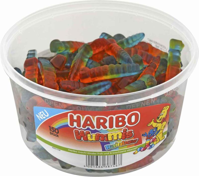Haribo Wummis Rainbow 150 Stück 1.2 kg -