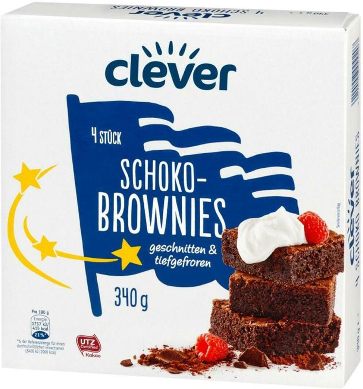 Clever Schoko-Brownies