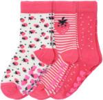 Ernsting's family 3 Paar Mädchen Socken mit Erdbeer-Motiv (Nur online)