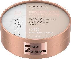 Catrice Puder Clean ID Mineral Matt Face Powder Neutral Sand 010