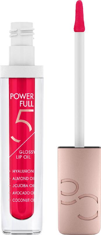 Catrice Lippenöl Power Full 5 Glossy Lip Oil Raspberry Glow 040